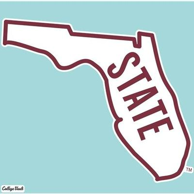 Florida State Decal Vault STATE Logo (8