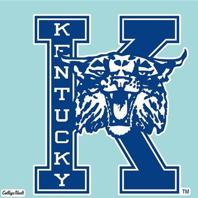 Kentucky Decal Vault K With Wildcat Logo (8