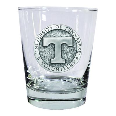 Tennessee Heritage Pewter Circular Rocks Glass