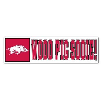 Arkansas Woo Pig Sooie Dizzler Decal (2