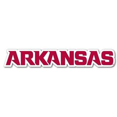 Arkansas Block Lettering Dizzler Decal (2