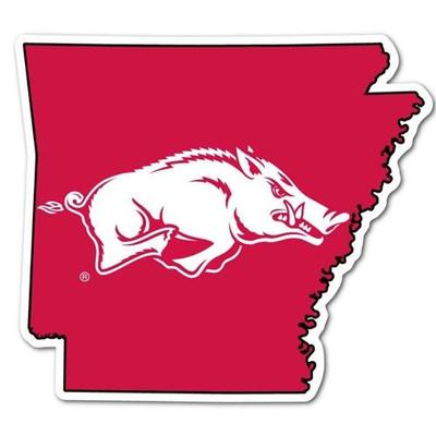 State of Arkansas Dizzler Decal (2