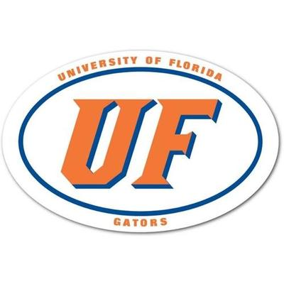 Florida UF Oval Dizzler Decal (2