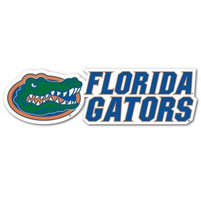 Florida Gators Slant Dizzler Decal (2