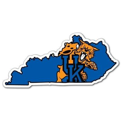 State of Kentucky Wildcat Dizzler Decal (2