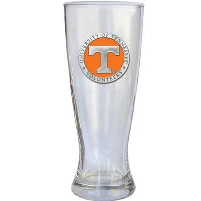 Tennessee Heritage Pewter Pilsner Glass (Orange Emblem)
