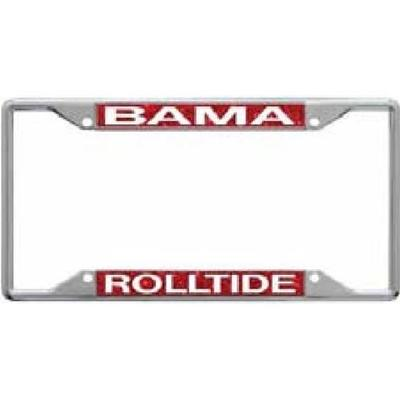 Alabama Glitter License Plate Frame