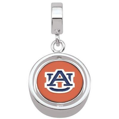 Auburn Spinner Charm