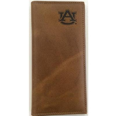 Auburn Embossed Leather Roper Wallet