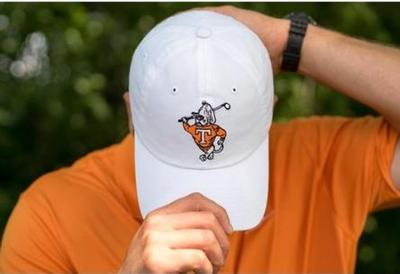 Tennessee Golfing Smokey Adjustable Hat By Volunteer Traditions