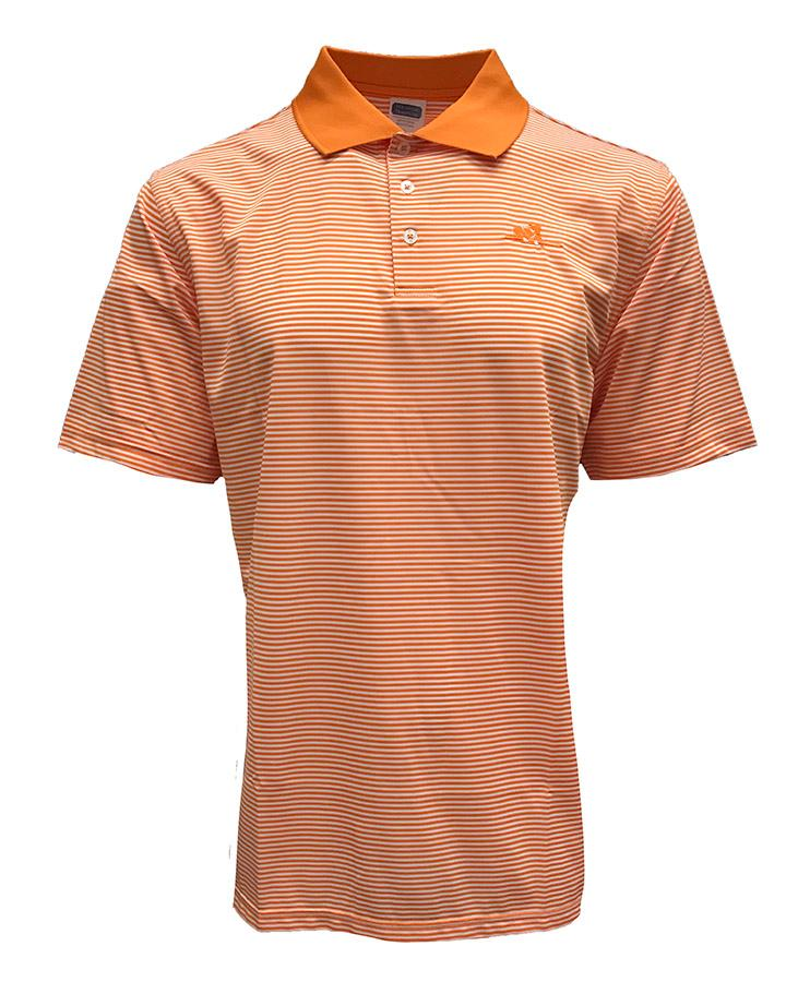 Tennessee Volunteer Traditions Thin Stripe Rifleman Polo