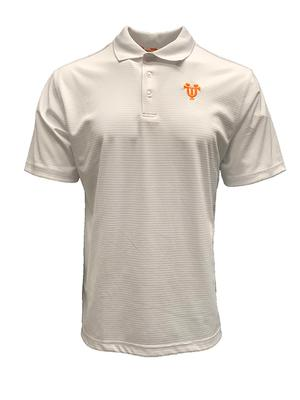 Tennessee Volunteer Traditions UT Interlock Logo Polo (White)