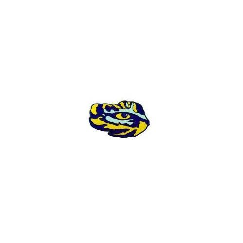 Lsu Mini Tiger Eye Lapel Pin