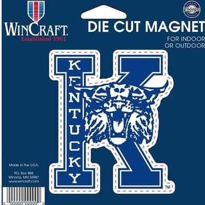Kentucky Magnet Vault K With Wildcat Logo (4
