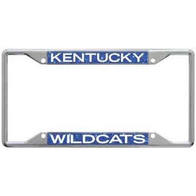 Kentucky Glitter License Plate Frame