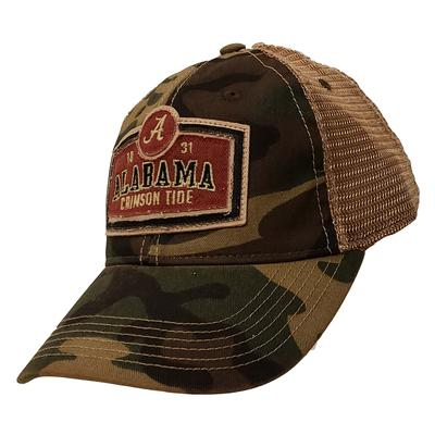 Alabama Legacy Scoreboard Meshback Adjustable Hat CAMO/MESH