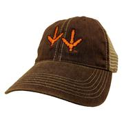 Virginia Tech Youth Mesh Trucker Hokie Tracks Hat
