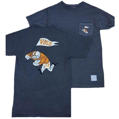 Tennessee Retro Brand Player With Flag Tee