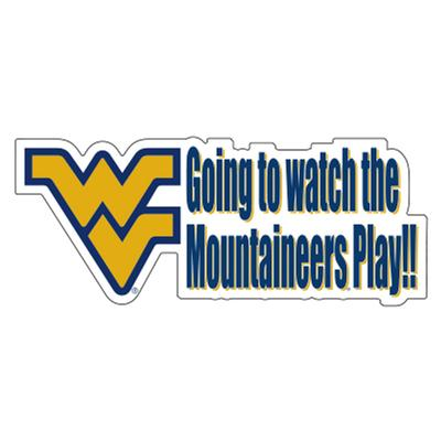 West Virginia Car Magnet