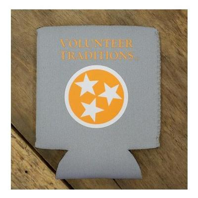 Tennessee Volunteer Traditions Tristar Coozie (Grey)