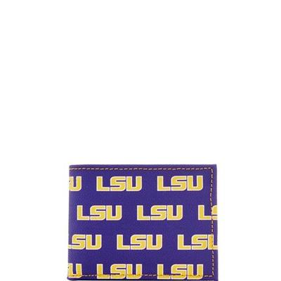 LSU Dooney & Bourke Credit Card Billfold