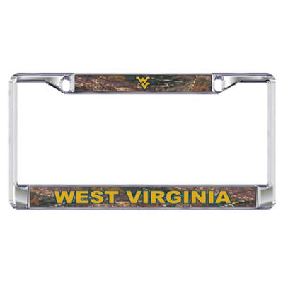 West Virginia License Plate Frame Camo WV/West Virginia