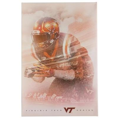Virginia Tech Let's Go Hokies Canvas