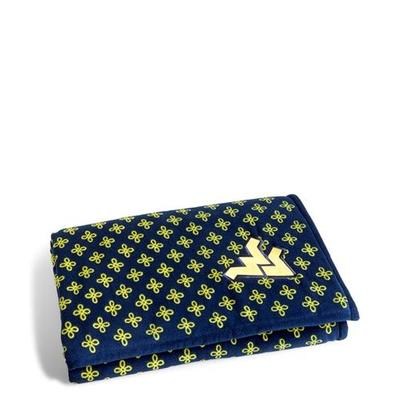 West Virginia Vera Bradley XL Throw Blanket (66