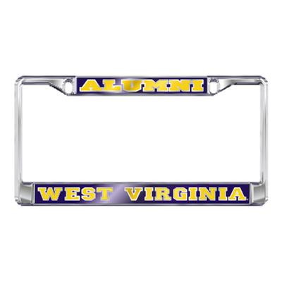West Virginia License Plate Frame Alumni/West Virginia