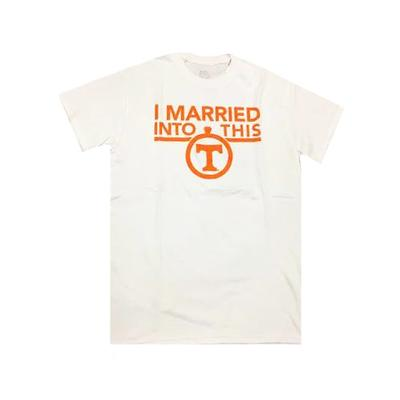 Tennessee I Married Into This T-Shirt WHITE