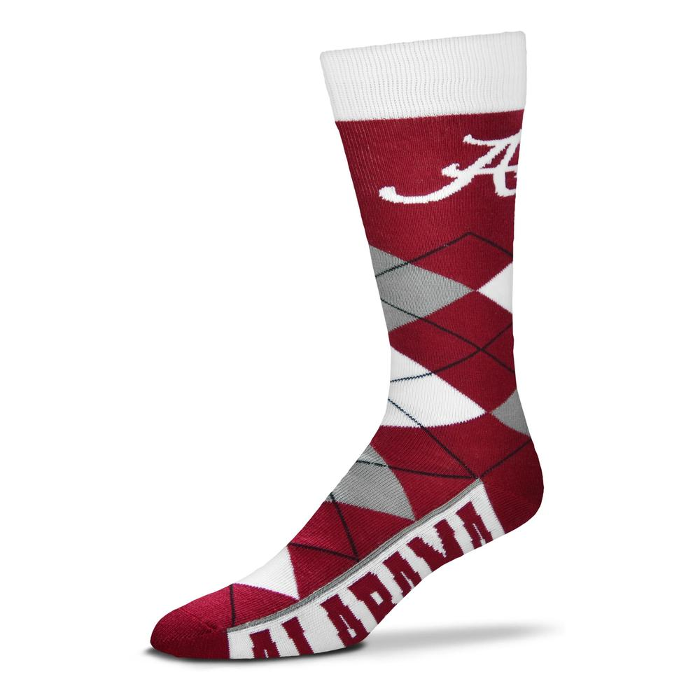 Alabama Fbf Originals Men's Argyle Socks