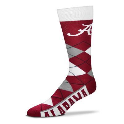 Alabama FBF Originals Men's Argyle Socks