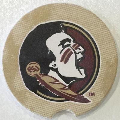 Florida State Seminole Car Coaster
