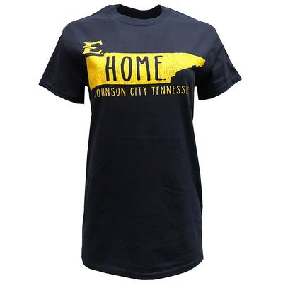 ETSU Women's Distressed State Logo Tee