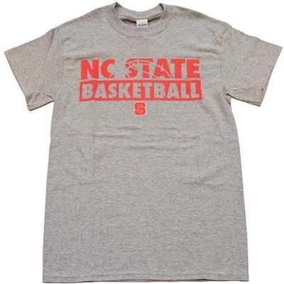 NC State Mesh Stack Basketball Tee