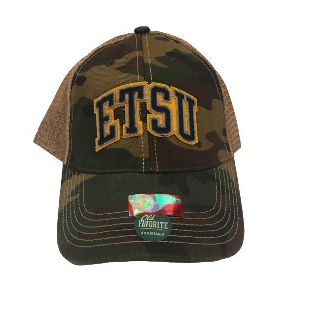 Etsu Legacy Flex Fit Vintage Arch Trucker Hat