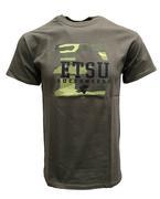 Etsu Camo Fill Logo T- Shirt