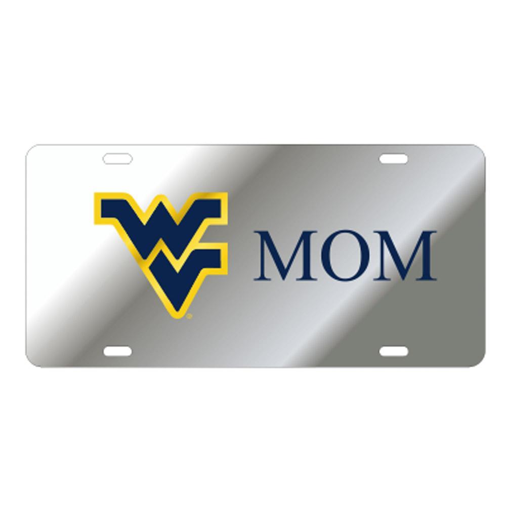 West Virginia License Plate Silver Wv Mom