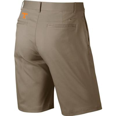 Tennessee Nike Golf Flat Front Shorts KHAKI