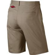 Arkansas Nike Golf Flat Front Shorts