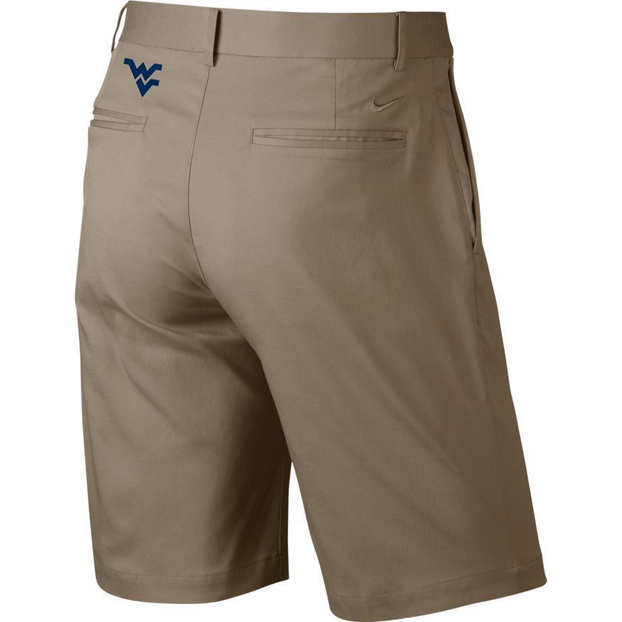 West Virginia Nike Golf Flat Front Shorts
