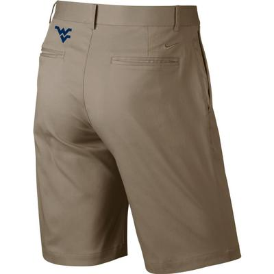 West Virginia Nike Golf Flat Front Shorts
