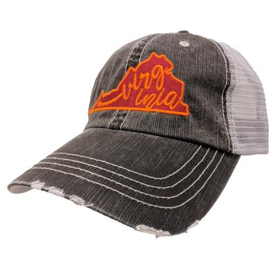 Katy State of Virginia Trucker Hat