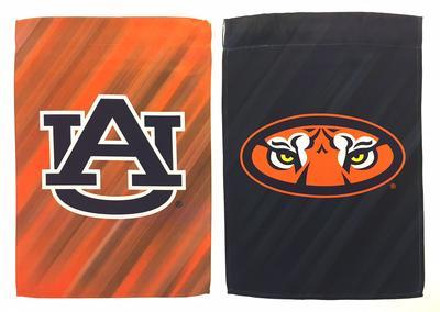 Auburn Suede Garden Flag
