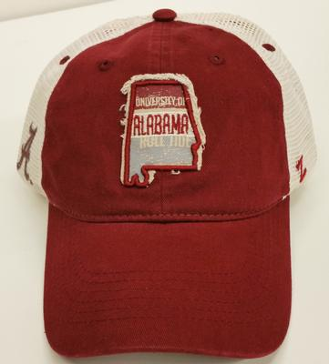 Alabama Washed State Meshback Hat