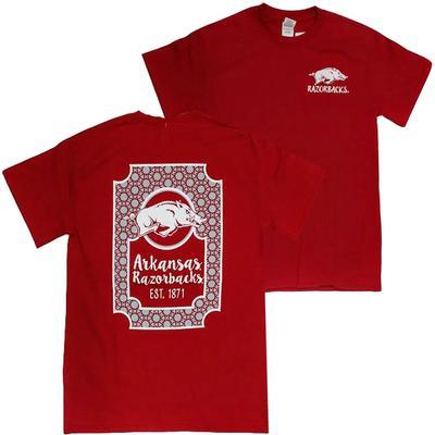 Arkansas Razorbacks Framed Tee