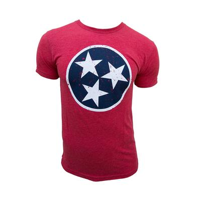 Tennessee Tristar State T-shirt RED/BLUE_TRISTAR