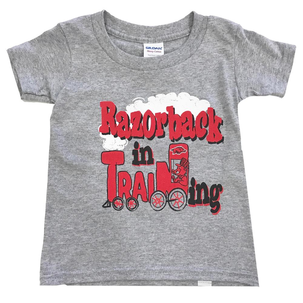 Arkansas Toddler Razorback In Training T- Shirt