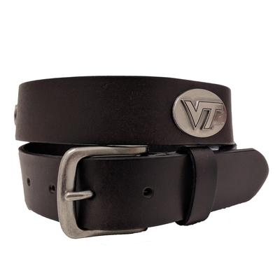 Virginia Tech Concho Belt
