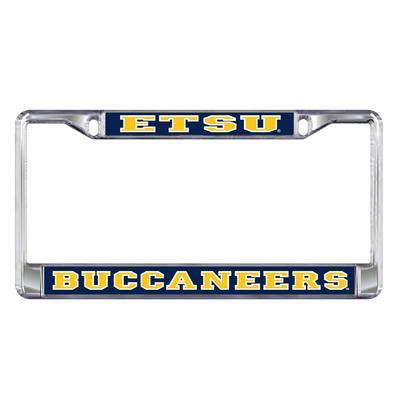 ETSU Metal License Plate Frame
